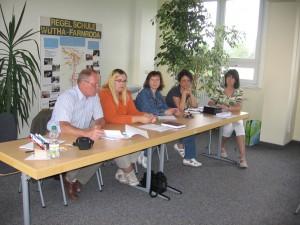 Vorstand zur Mitgliederversammlung 2011