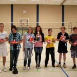 Diese Schüler erhielten die Ehrenurkunde