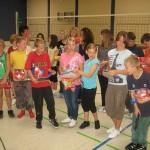 Schüler aus der Regelschule Wutha-Farnroda gestalteten ein Programm